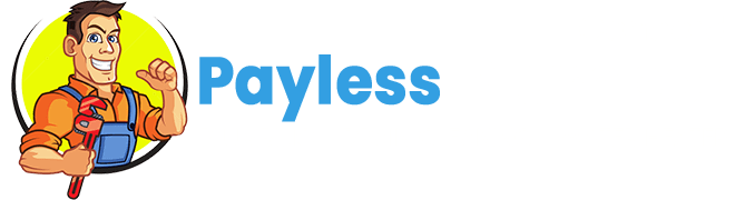 payless plumber concord nc logo